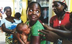 ASC helps out with child vaccination