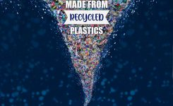 ASC to launch the world's first glitter fabric made from recycled plastic.