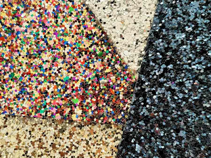 glitter reciclado baja